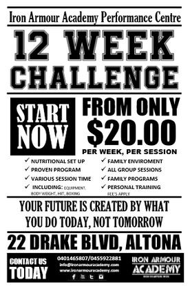TRANSFORM: 12 Week Challenge