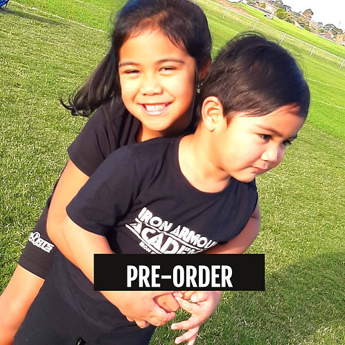 PRE-ORDER: Black Training Tee - Youth