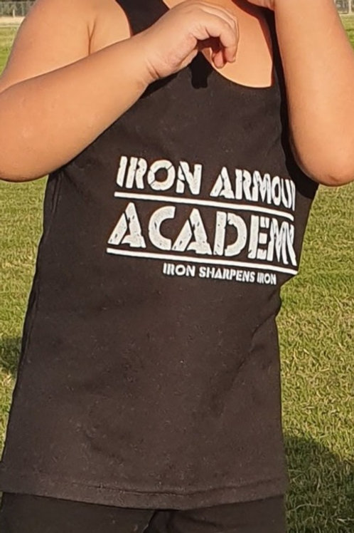 PRE-ORDER: Black Training Singlet - Adults