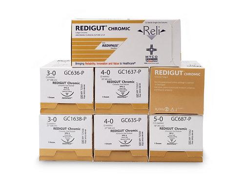 RELI® REDIGUT® Chromic Gut PRO Absorbable Suture - 360/case