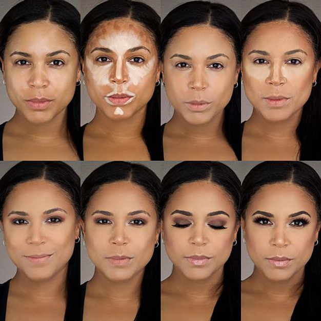 A Step-By-Step Guide to Highlighting & Contouring with Makeup ...