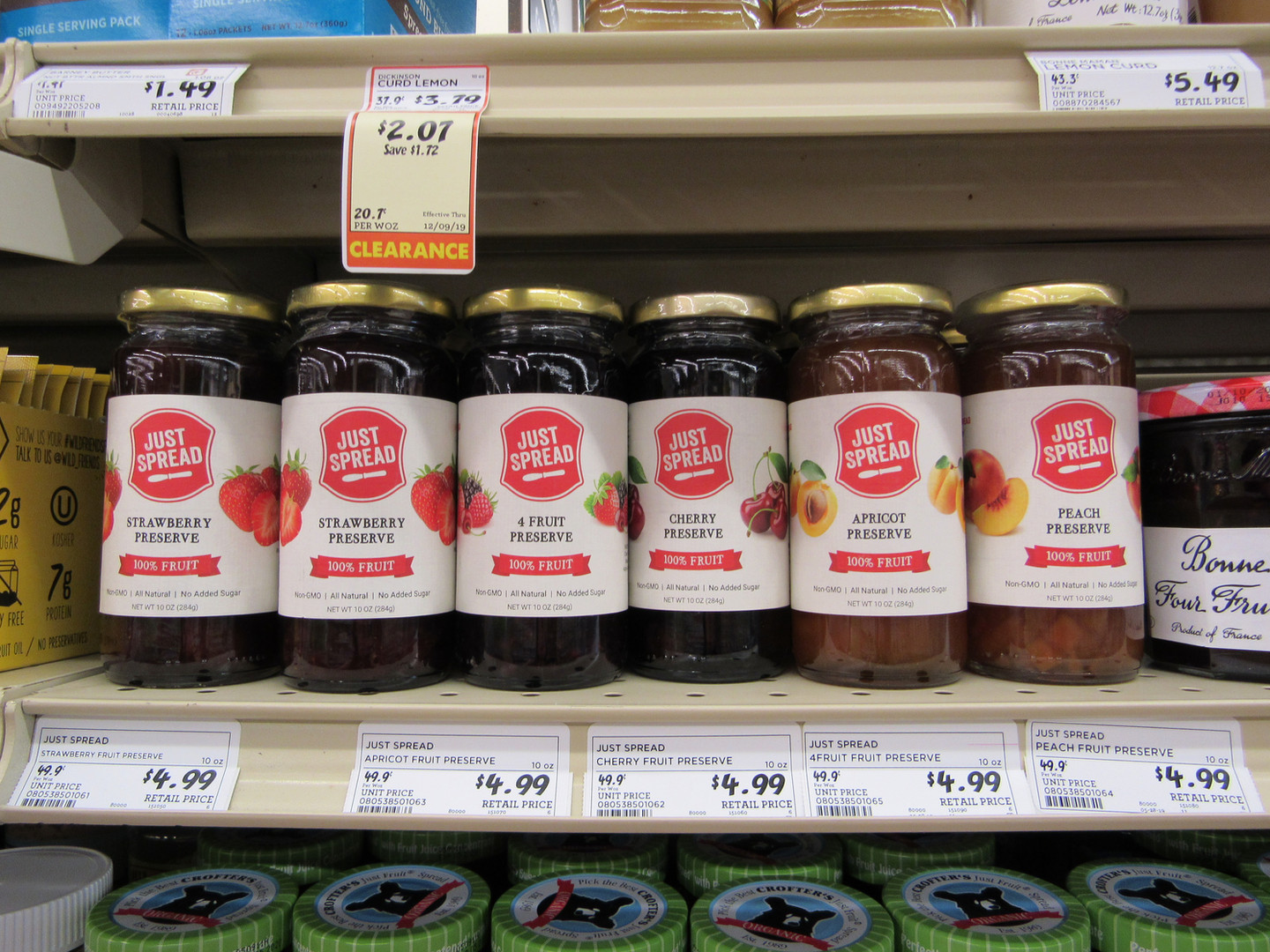 Preserves on Shelf