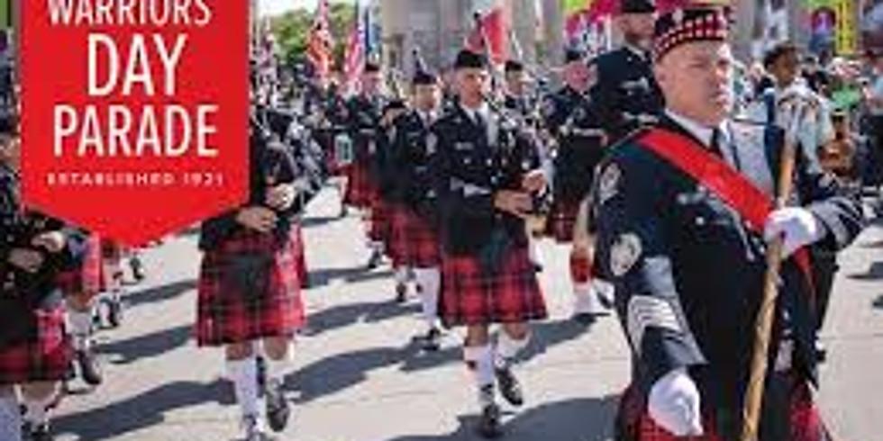 Warriors Day Parade at CNE