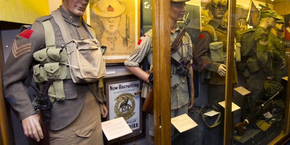 48th Highlanders Museum Visit