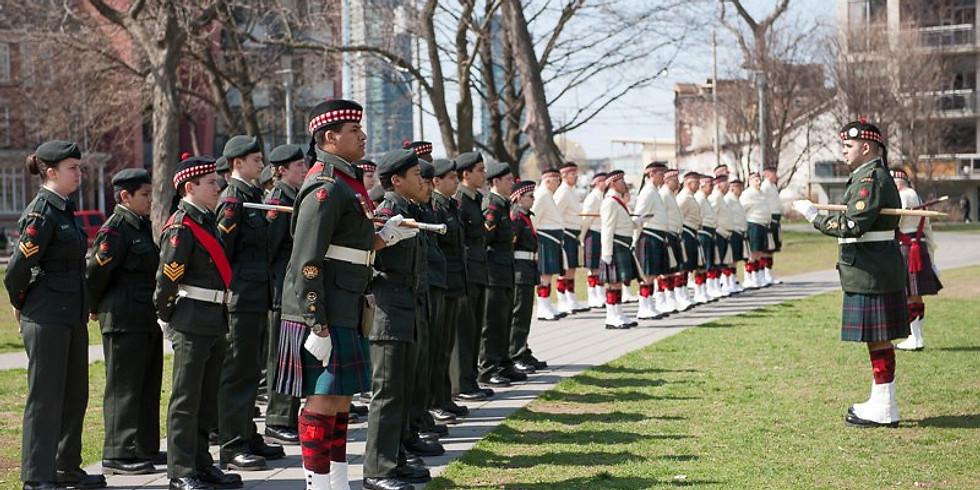 Regimental Remembrance Day Parade