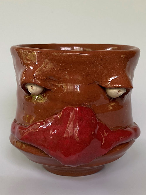 Face Jug Cup with Face Mask (5 different Colors)