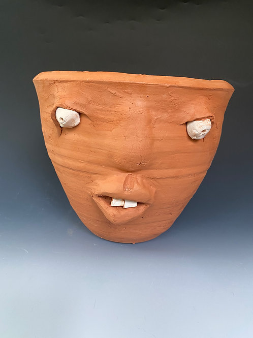 Face Jug Planter-Jumbo