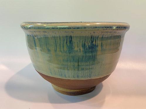 Rutile Blue Triangle Bowl