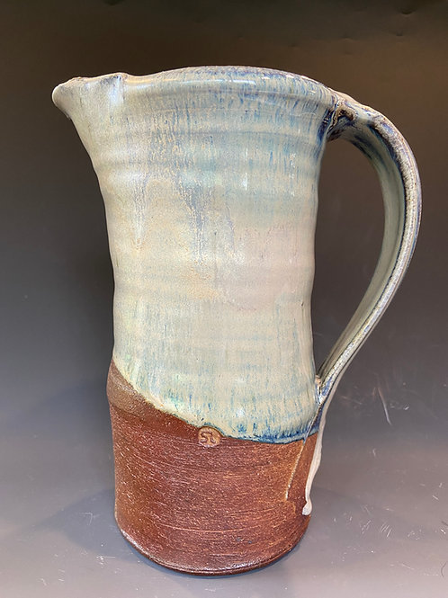 Large Blue Pitcher
