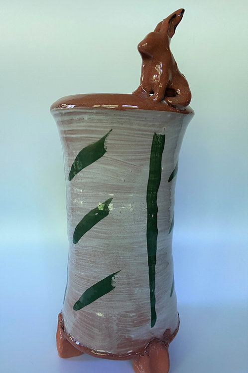 Large Vase-Rabbit