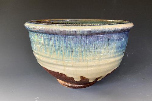 Medium Blue Altered bowl