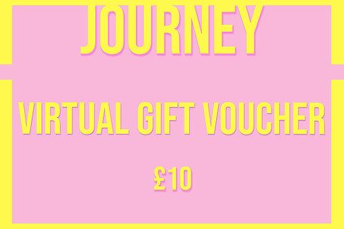 £10 Virtual Gift Card