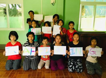 14 Children Rescued In Myanmar