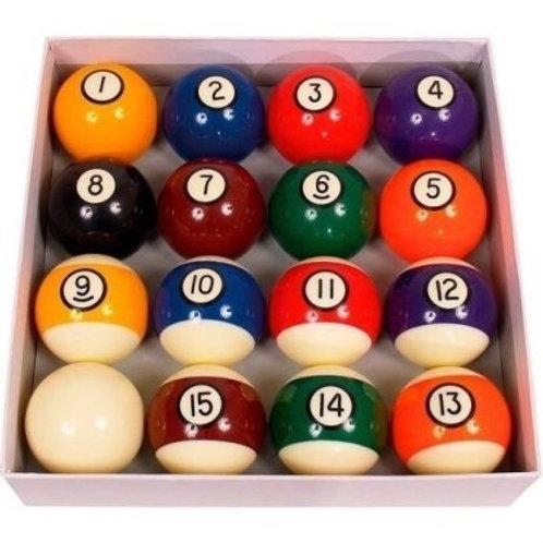 Biglie per gioco Pool per diversi diametri