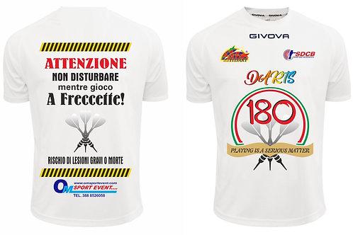T-shirt ufficiale dart Campania