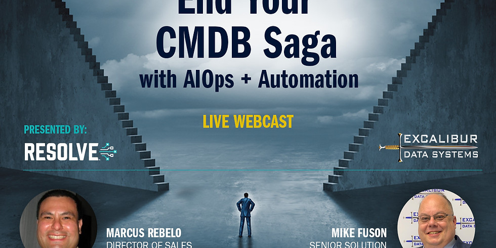 End Your CMDB Saga with AIOps + Automation
