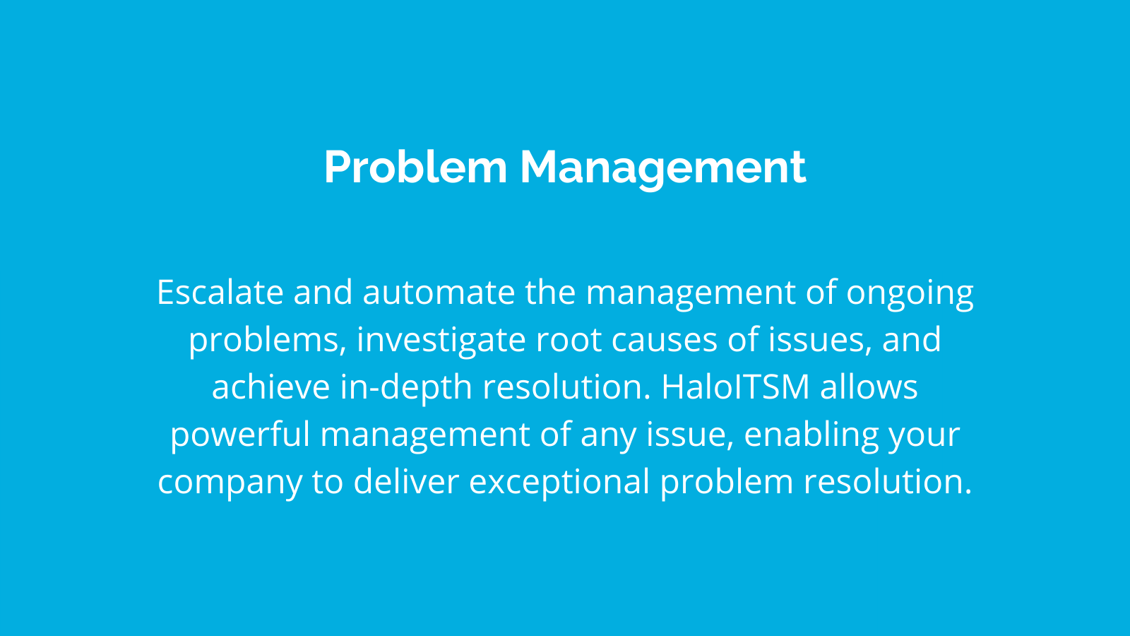 problemmanagement