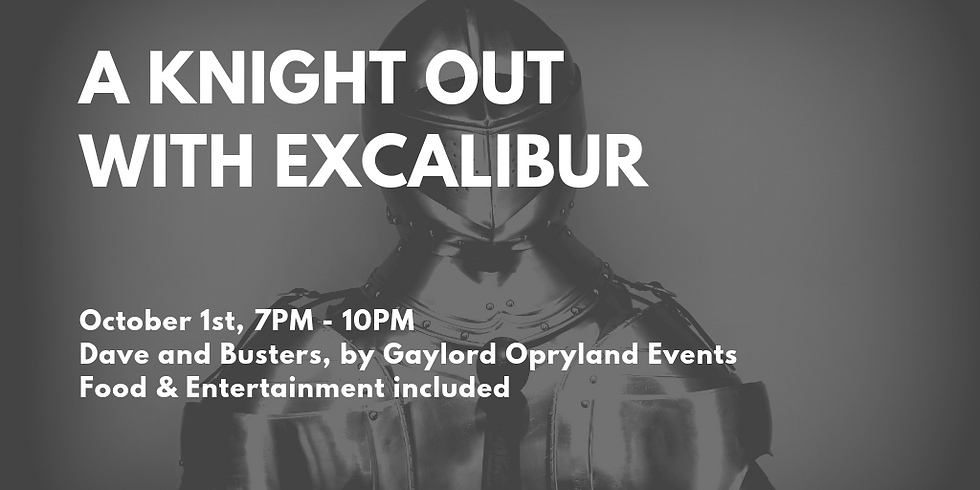 A Knight Out With Excalibur