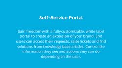 self-service portal