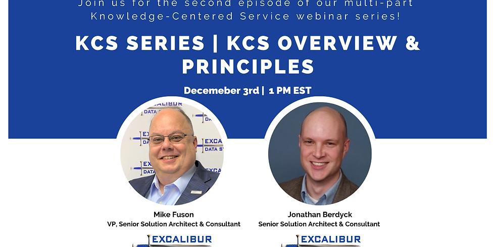 KCS Series   KCS Overview & Principles
