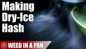 How to Make Hash with Dry Ice