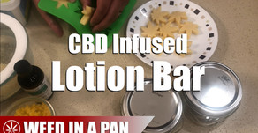 How To Make A Cannabis CBD Infused Lotion Bar