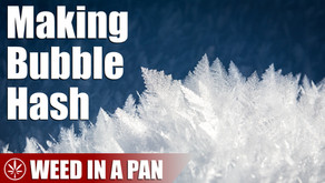 How to Make Bubble Hash with Ice