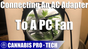 How to Connect an AC/DC Adapter to a PC Fan