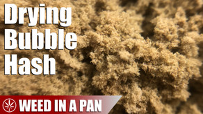 How to Dry Bubble Hash