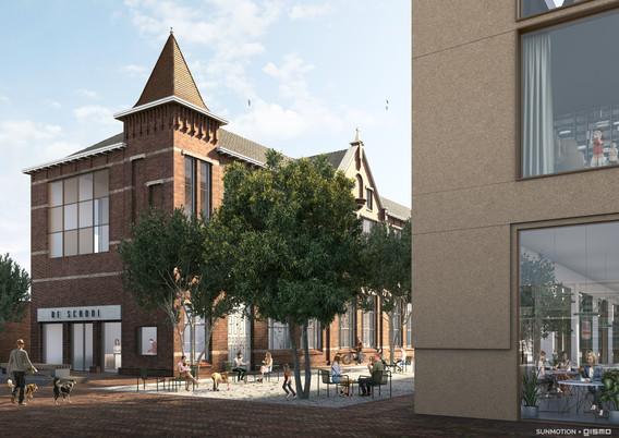 Schoolkwartier Waalwijk exterior - met l