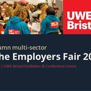 Meet us at the Bristol Autumn multi-sector Meet The Employers Fair 2019