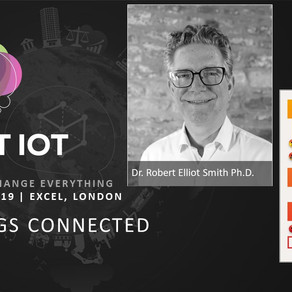 Our CTO, Dr. Robert Elliott Smith Ph.D. will be doing a talk at the upcoming Smart IoT conference