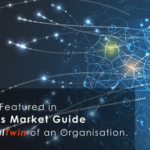 BOXARR Featured in Gartner's Market Guide for DigitalTwin of an Organisation.