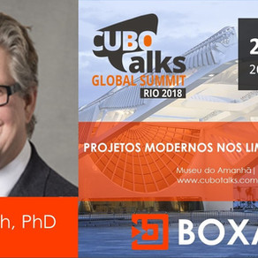 What to expect from tomorrow? BOXARR CTO, Dr Rob Smith, PhD is heading to Rio de Janeiro to talk abo