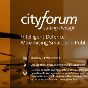 BOXARR invited to participate in the CityForum 'Intelligent Defence Series' round table