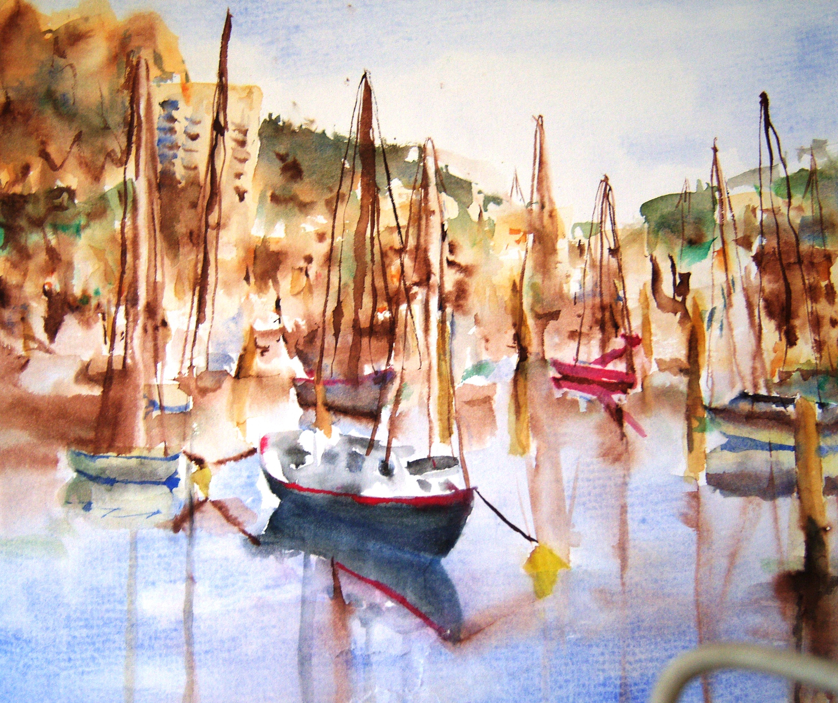 The Still of the Harbour