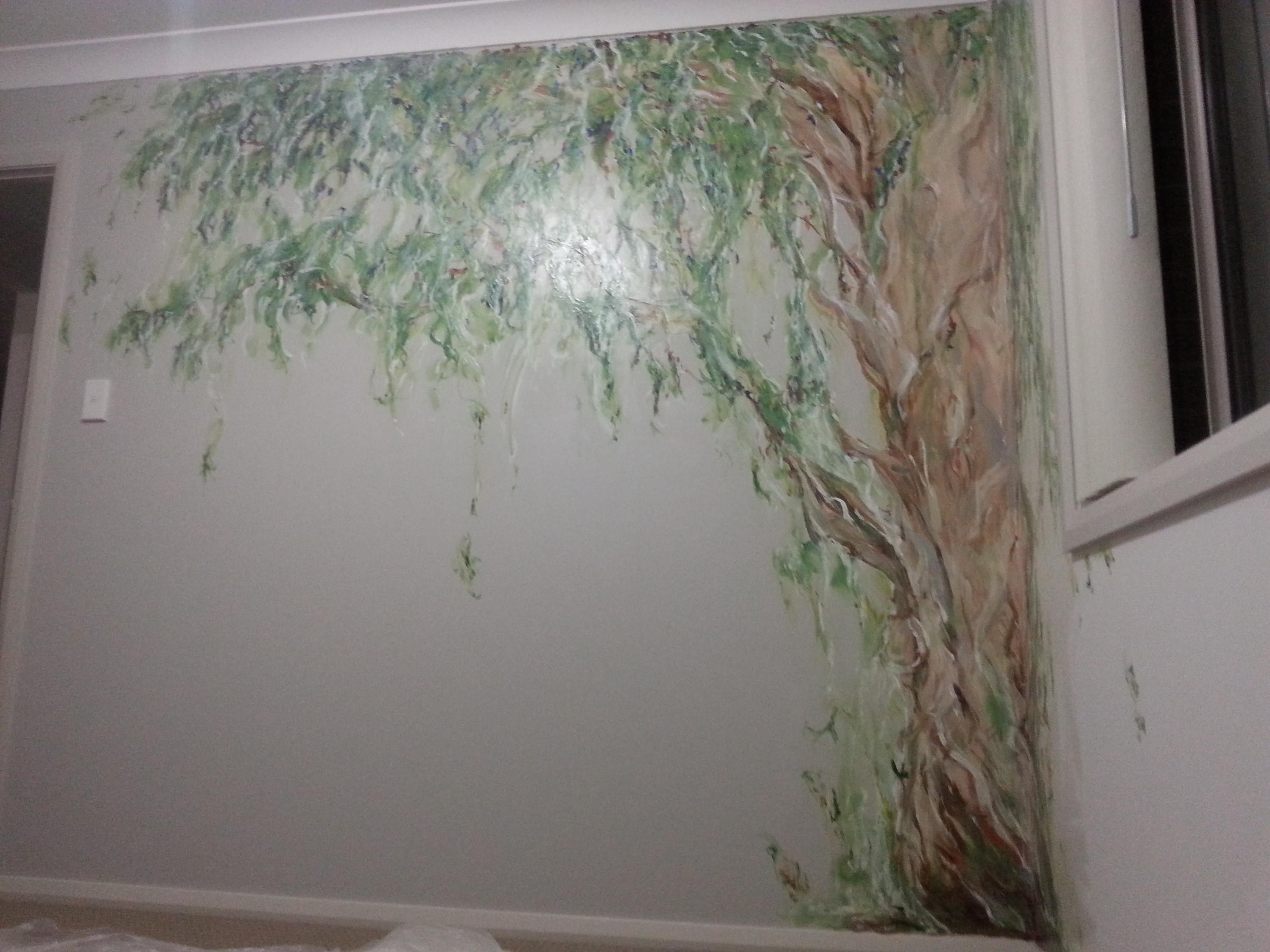 Mural of Tree