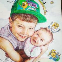 Joshie and Paige