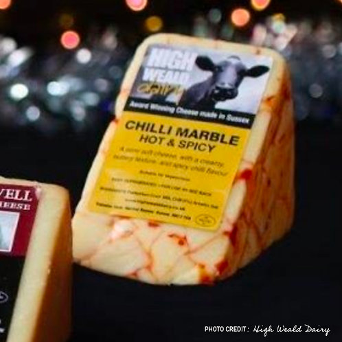 Sussex Chilli Marble Cheese