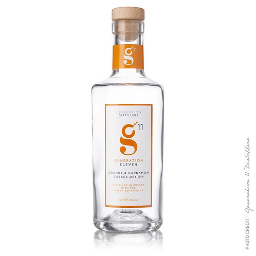 Generation 11 Orange & Cardomom Gin