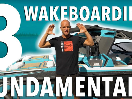 The 3 fundamentals of wakeboarding ft. Shaun Murray