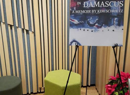 3 Days in Damascus Book Tour