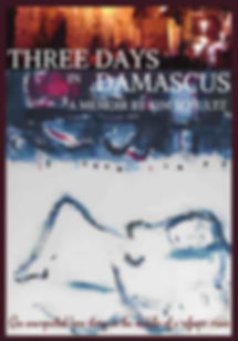 Three Days in Damascus memoir book cover