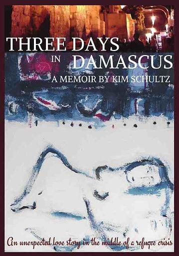 Three Days in Damascus memoir book cover