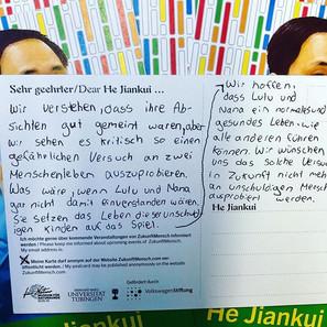 Postkarten im Experimentierfeld! # Crisp