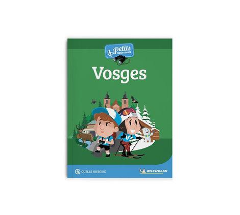 Les petits explorateurs - Les Vosges - Guide Michelin