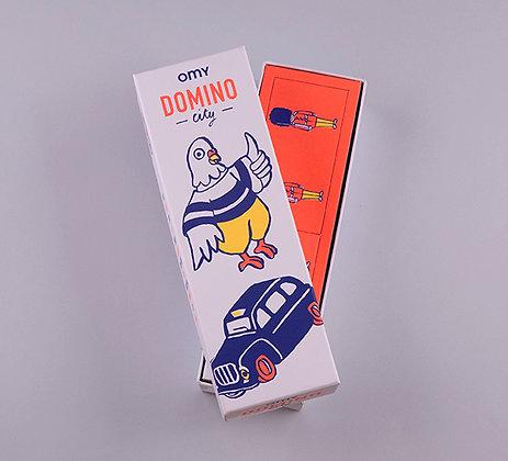 Boite de jeu Domino City - OMY