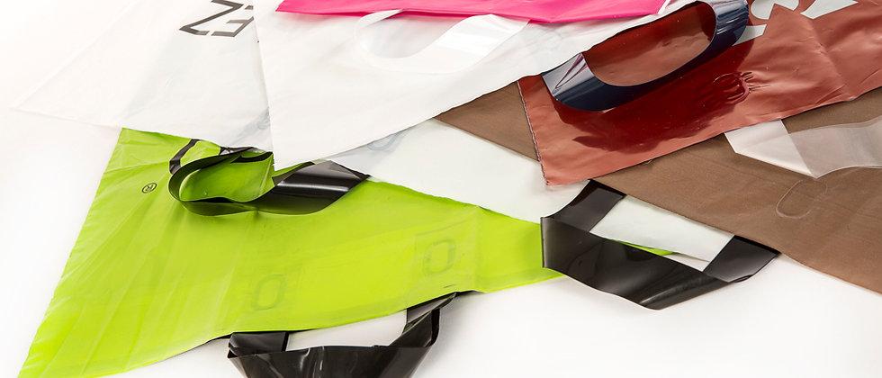 5000 Bolsas de Plástico Modelo Troquelado