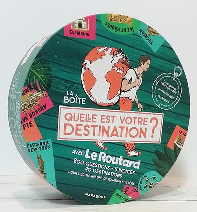 Boite routard - Quelle est votre destination