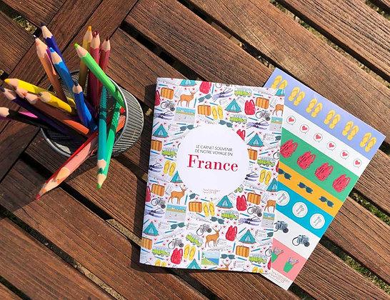 Carnet de voyage - France